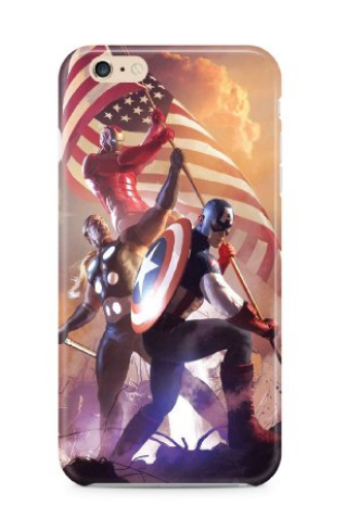 Captain America: Civil War iPhone 6/6s Cases 2016 10