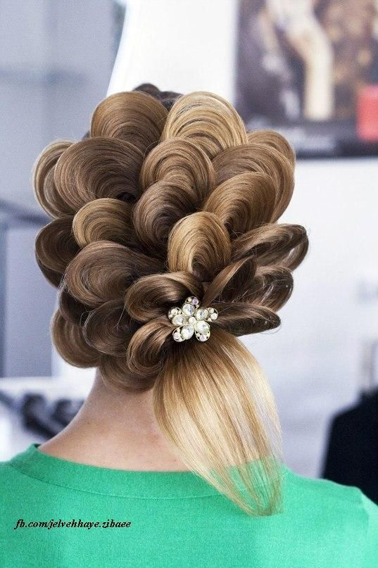 15+ Lovely Flower Hairstyles 2016 12