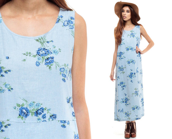 15+ Lovely Maxi Dresses under $50 for Spring 2016 10