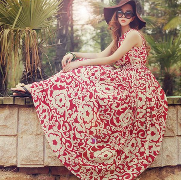 15+ Lovely Maxi Dresses under $50 for Spring 2016 9