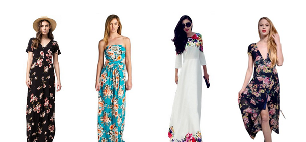 15+ Lovely Maxi Dresses under $50 for Spring 2016