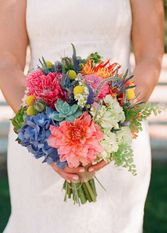20+ Beautiful Wedding Bouquets 2016 12
