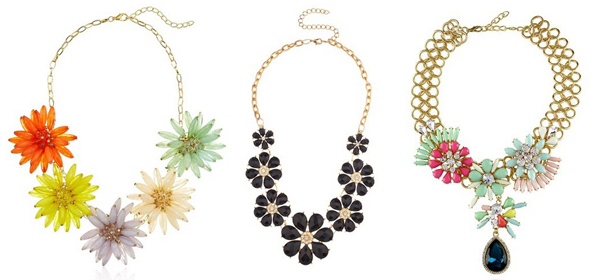 20+ Floral Statement Necklaces 2016