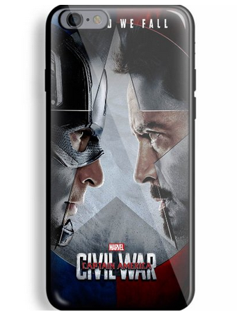 Captain America: Civil War iPhone 6/6s Cases 2016 1