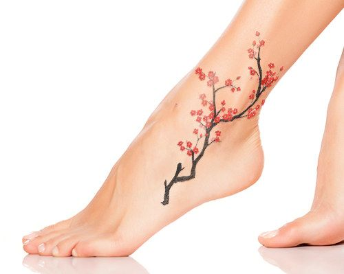 Cherry Blossoms Tattoo Designs 2016 6