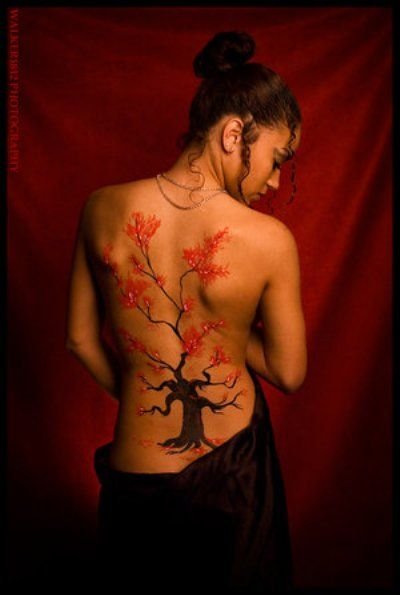 Cherry Blossoms Tattoo Designs 2016 7