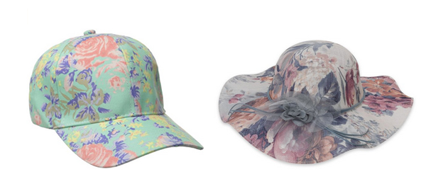 Floral Hats for Spring 2016