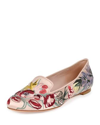Floral Loafers for Spring 2016 11