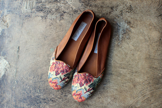 Floral Loafers for Spring 2016 3