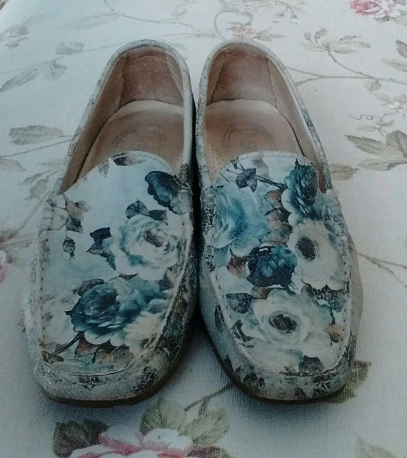 Floral Loafers for Spring 2016 4