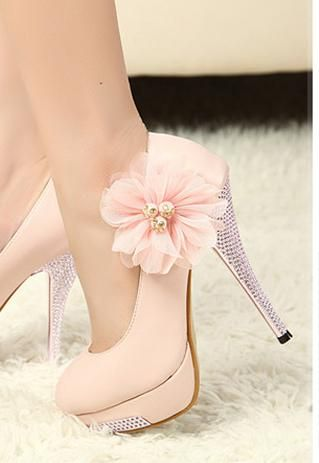 Gorgeous Floral Heels for Spring 2016 1