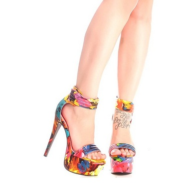 Gorgeous Floral Heels for Spring 2016 12