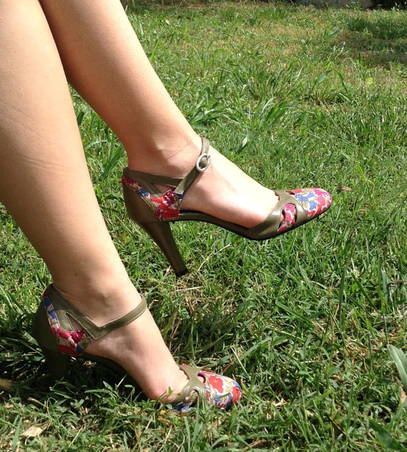 Gorgeous Floral Heels for Spring 2016 13