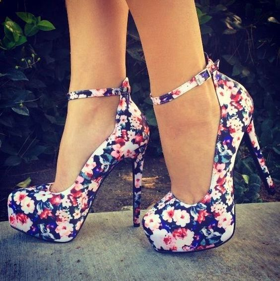 Gorgeous Floral Heels for Spring 2016 2