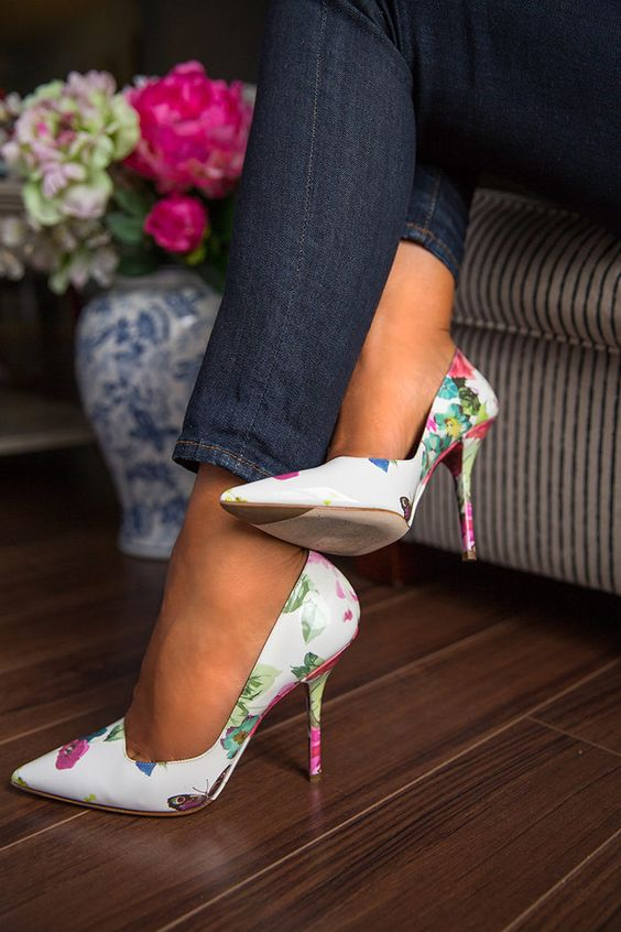 Gorgeous Floral Heels for Spring 2016 7