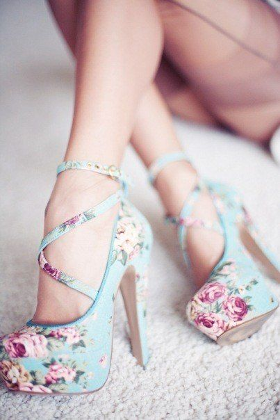 Gorgeous Floral Heels for Spring 2016 8