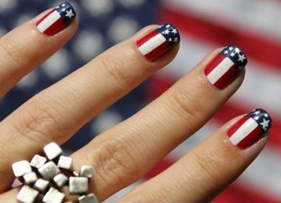 Memorial Day Nail Art 2016 - Ideas and Stickers 4