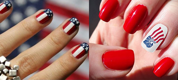 Memorial Day Nail Art 2016 - Ideas and Stickers