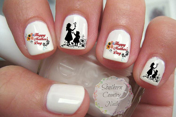 Mother's Day Nail Art 2016 – Designs, Ideas and Stickers 4