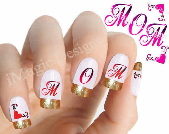 Mother's Day Nail Art 2016 – Designs, Ideas and Stickers 5