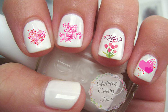 Mother's Day Nail Art 2016 – Designs, Ideas and Stickers 7