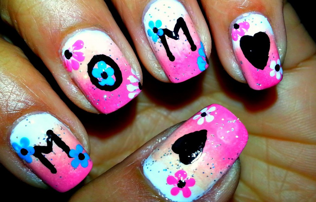 Mother's Day Nail Art 2016 – Designs, Ideas and Stickers 9