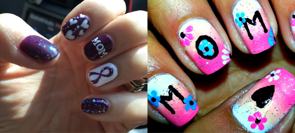 Mother's Day Nail Art 2016 – Designs, Ideas and Stickers