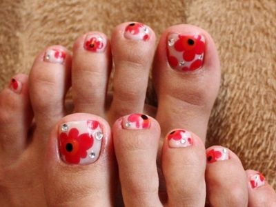 Toe Nail Art Ideas for Spring 2016 12