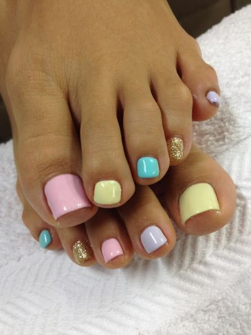 Toe Nail Art Ideas for Spring 2016 13