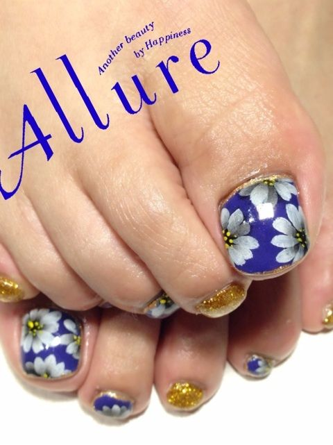 Toe Nail Art Ideas for Spring 2016 16