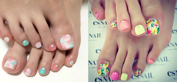 Toe Nail Art Ideas for Spring 2016