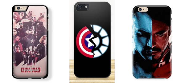 Captain America: Civil War iPhone 6/6s Cases 2016