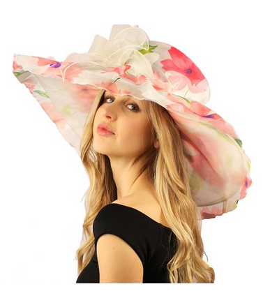 Floral Hats for Spring 2016 5