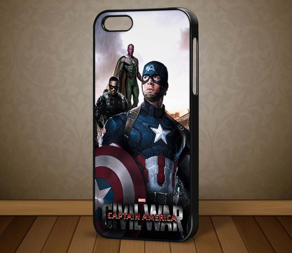 Captain America: Civil War iPhone 6/6s Cases 2016 6