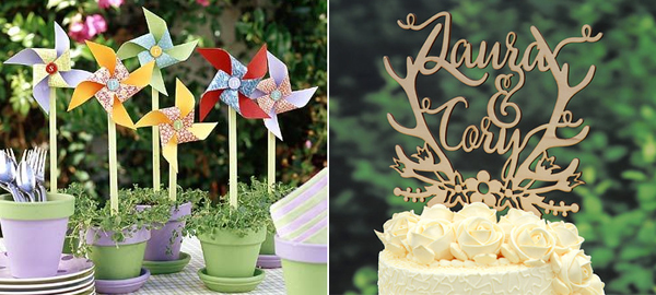 10+ Crafts and Decorations for Spring Parties 2016 1