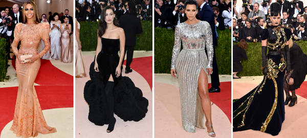 15 Amazing, Creative and Lovely Dresses at the Met Gala 2016