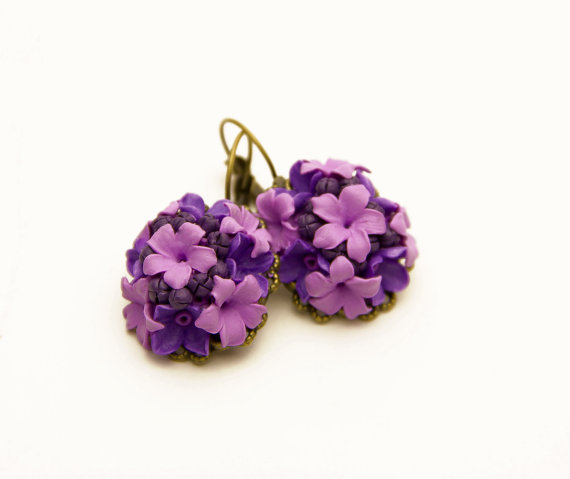 15+ Floral Earrings 2016 2