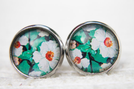 15+ Floral Earrings 2016 3