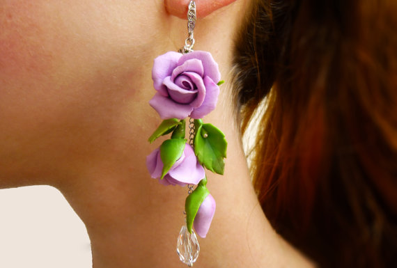 15+ Floral Earrings 2016 4