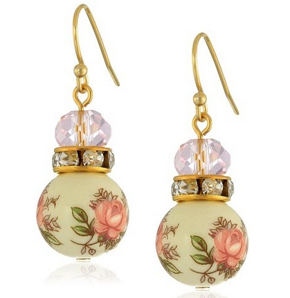 15+ Floral Earrings 2016 7