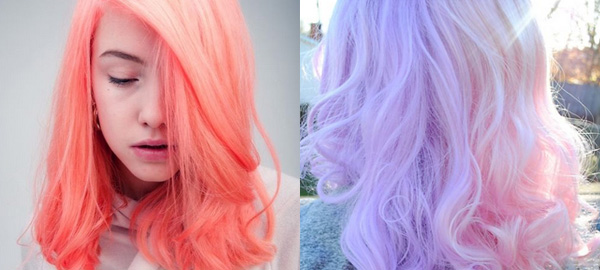 25+ Pastel Hairstyles and Hair Colors for Spring 2016
