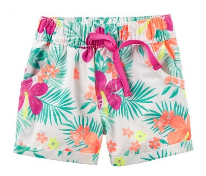 Floral Shorts for Kids and Toddlers for Spring 2016 1