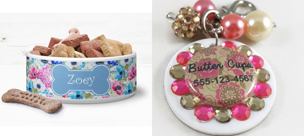 Floral Themed Pet Accessories for Spring 2016