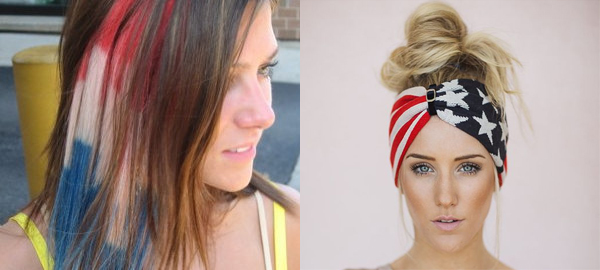 Memorial Day Hairstyle and Hair Accessories 2016'