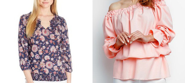 Peasant Tops for Spring 2016