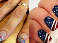 20 Independence Day Nail Art Designs and Ideas 2016