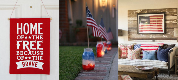 25+ Independence Day House Decorations and Furniture 2016