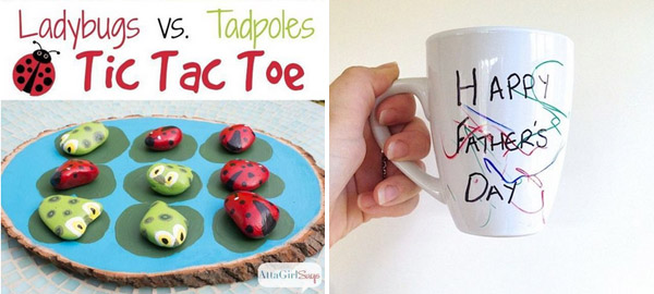 Father's Day Craft Ideas and Tutorials for Kids 2016
