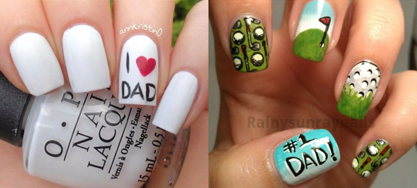 Father's Day Nail Art Ideas 2016