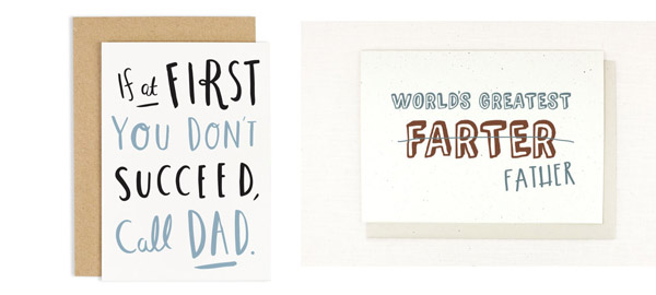 Funny and Creative Father's Day Cards for 2016